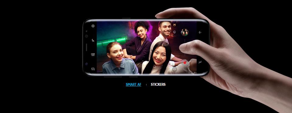 Camara Galaxy S8